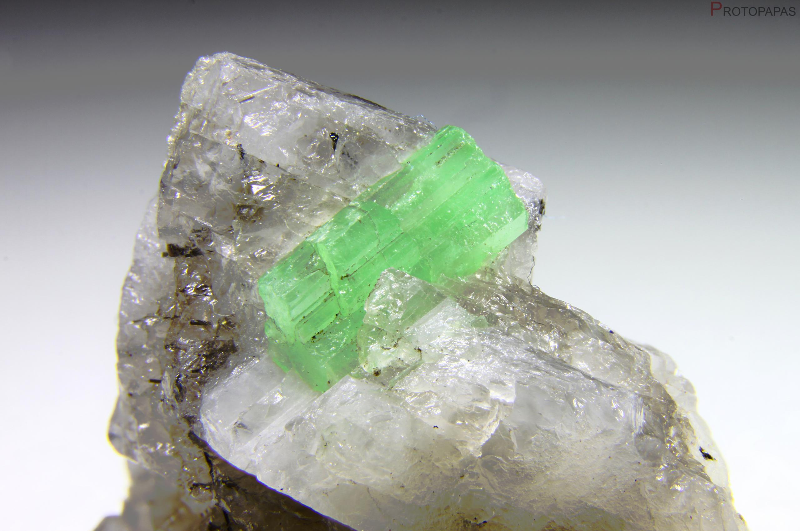 Green Beryl from Guizhou, China