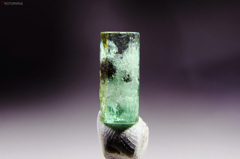 Light green Emerald from Colombia