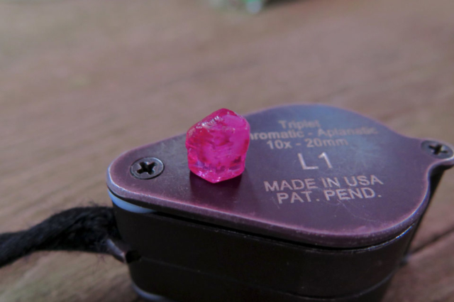 HOT-PINK-RUBY-CRYSTAL-OF-45-CT-FROM-MOGOK-MYANMAR.-Photo-by-Federico-Barlocher
