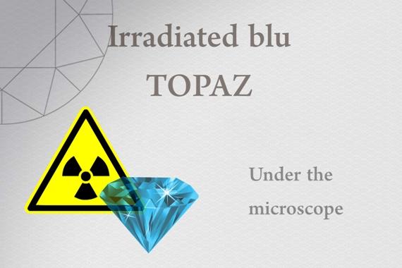 Irradiated blu Topaz - Photo by Francesco Protopapas