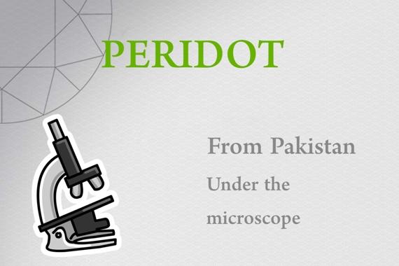 Peridot from Pakistan - Photo by Francesco Protopapas
