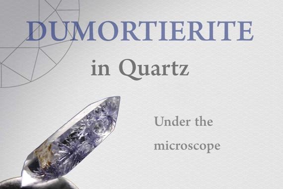 Dumortierite in Quartz - Photo by Francesco Protopapas