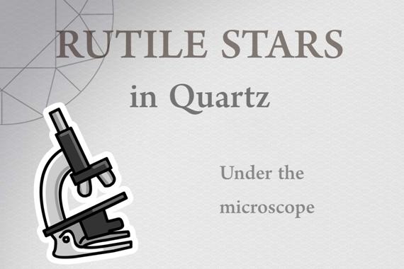 Rutile Stars in Quartz - Photo by Francesco Protopapas