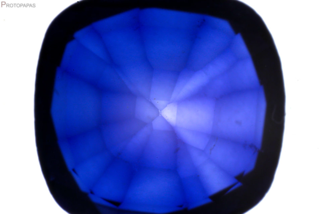 Color-concentration-in-the-edges-of-the-facets-inTitanium-diffusion-Verneuil-synthetic-Sapphire