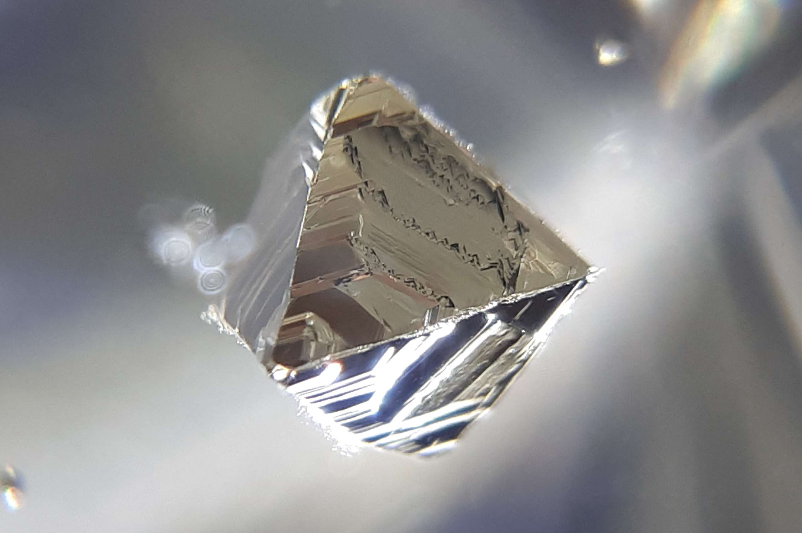 Pyrite inclusions in Quartz - Russia, Astafiewskoe deposit, South Ural (1) - Igor Bolotovski