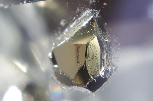 Pyrite inclusions in Quartz - Russia, Astafiewskoe deposit, South Ural (5) - Igor Bolotovski