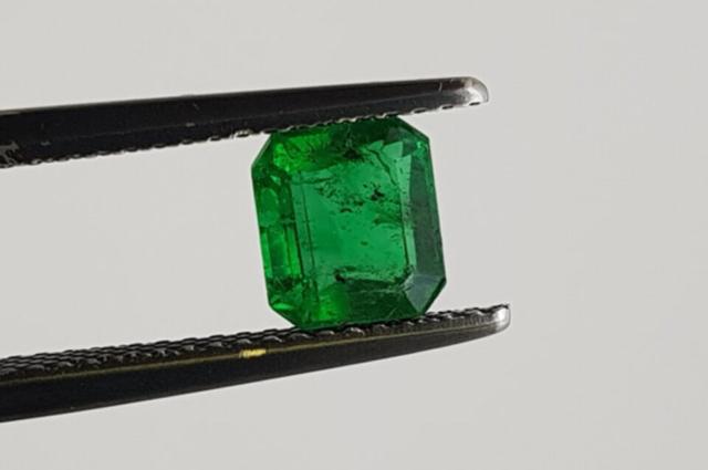 Emerald from Goiás state, Brazil. Photo by Felipe C. Pereira