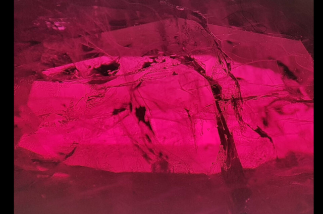 Flux in Synthetic flux Ruby. Photo by Felipe C. Pereira